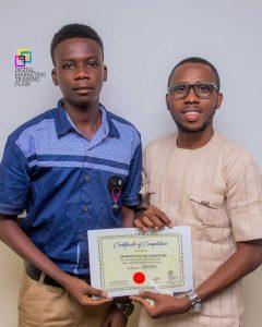 Video Editing Class Certificate